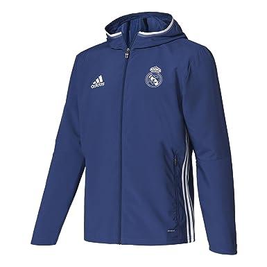 adidas Pre Jkt Chaqueta Línea CF Real Madrid FC, Hombre