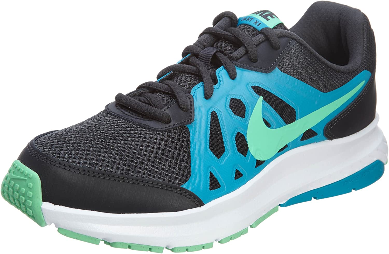 724940 Ankle-High Fabric Running Shoe