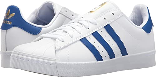 adidas Skateboarding Unisex Superstar Vulc ADV Footwear WhiteCollegiate RoyalGold Metallic 7.5 Women 6.5 Men M US
