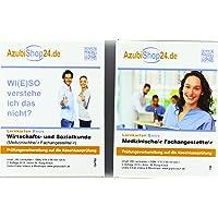 AzubiShop24.de Kombi-Paket Lernkarten Medizinische/-r Fachangestellte/-r: Erfolgreiche Prüfungsvorbereitung auf die Abschlussprüfung
