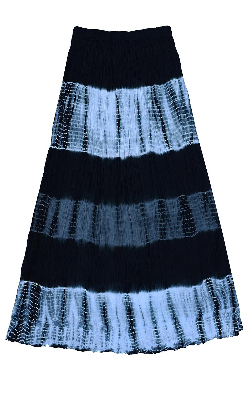 Ayurvastram ピュアコットン縮み艶出しブロックプリントロングスカート B075VCQY9T Size Waist: XL; Body Tie Waist: 34 in|Black Black Grey Tie Dye Black Grey Tie Dye Size XL; Body Waist: 34 in, けあ太朗:e672ade8 --- gateridge.com