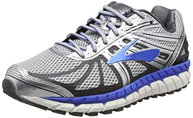 69576596035 Brooks Men s Beast  16 Silver Electric Brooks Blue Ebony ...