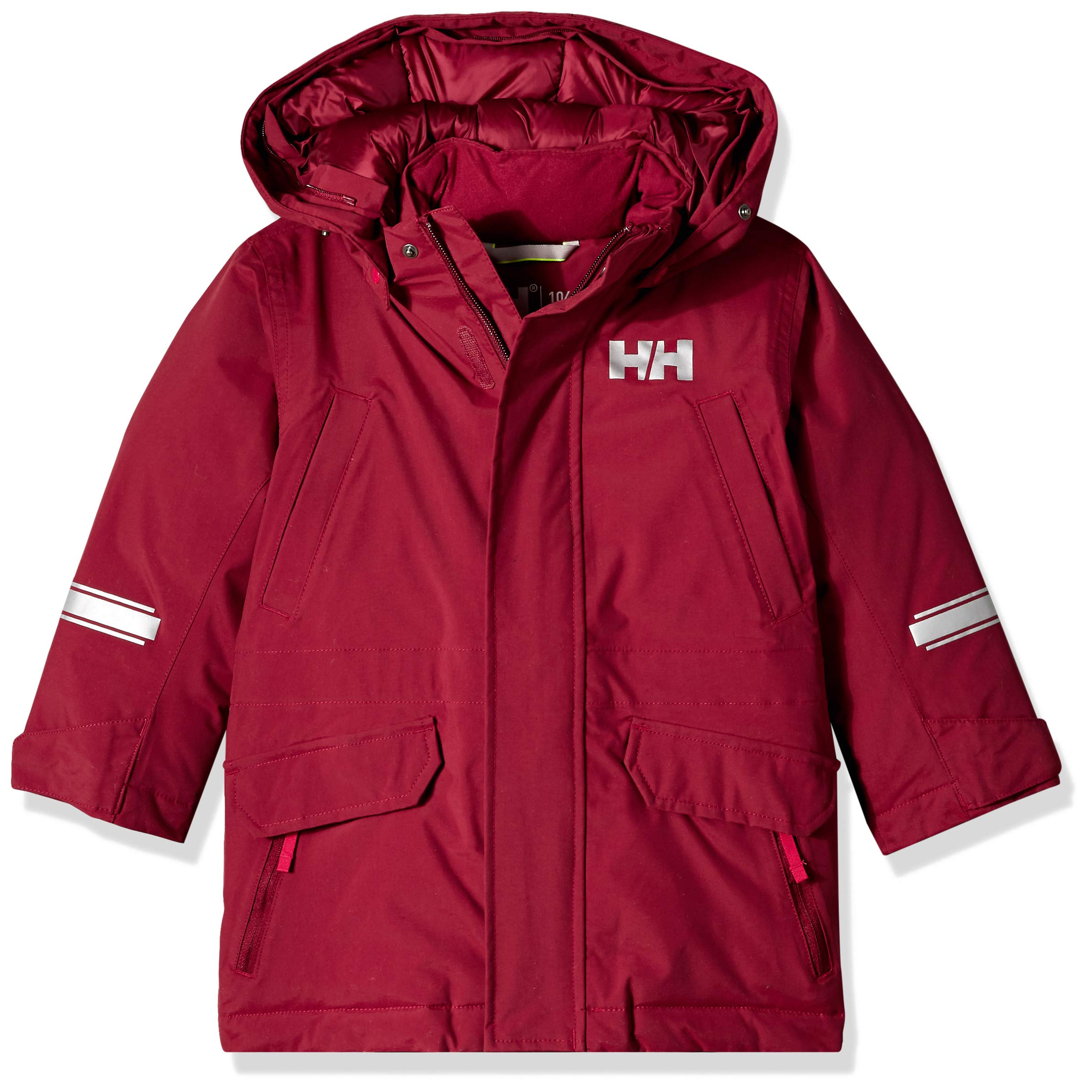 Helly Hansen K Isfjord Down Parka Jacket, Cabernet, Size 4 by Helly Hansen (Image #4)