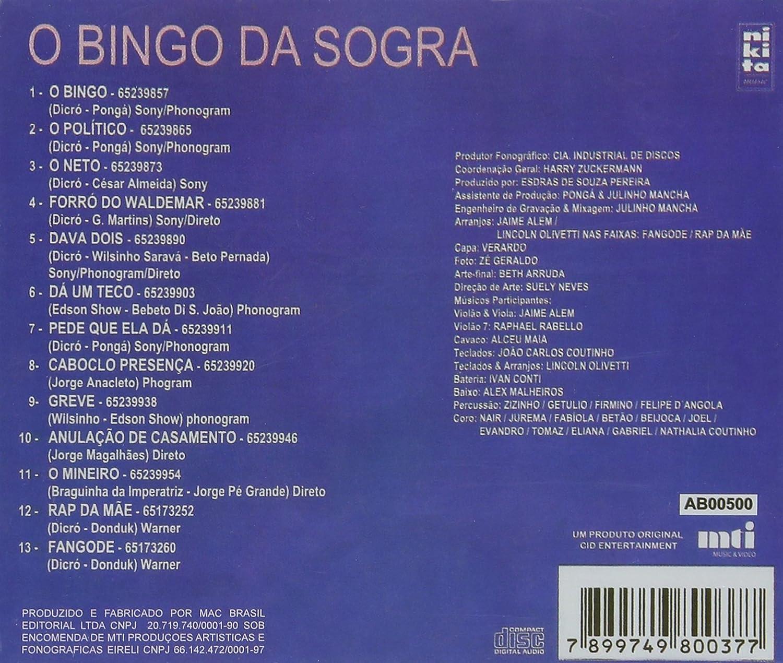 SOGRA BINGO DA BAIXAR O CD DICR