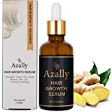 AZALLY Hair Growth Serum, Ginger Hair Growth Oil , Best Hair Loss Prevention Treatment(60ml)