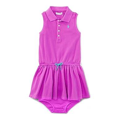 101e42071 Amazon.com  Ralph Lauren Baby Girls  Sleeveless Polo Dress