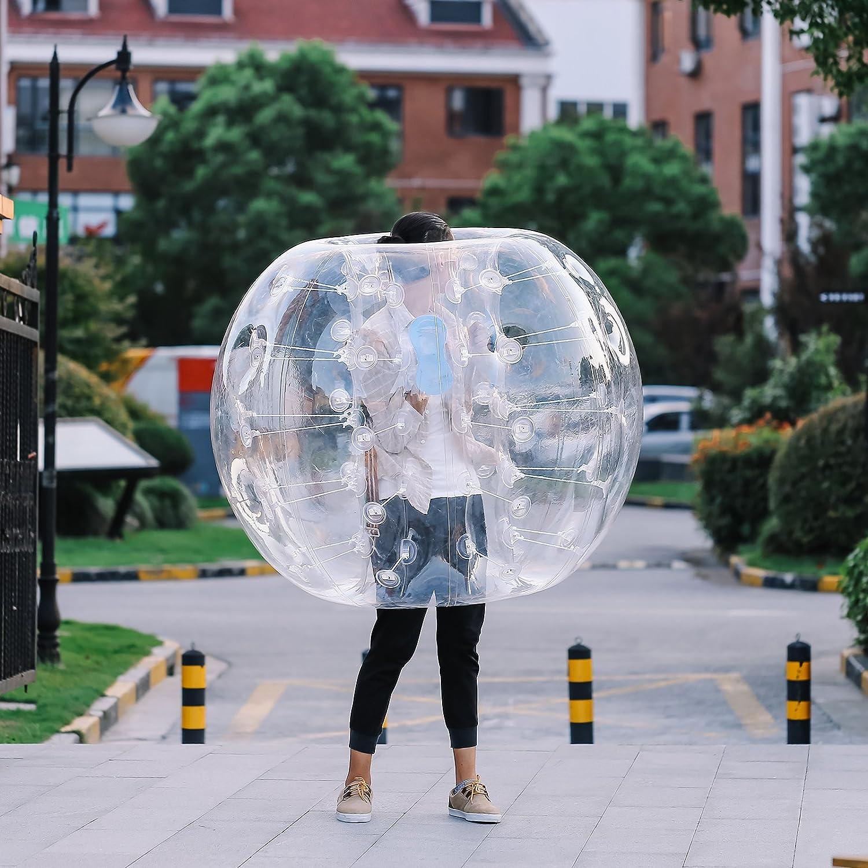Cenyボディインフレータブルバンパーボール1.2 m-1.5 mインフレータブルバンパーバブルボールPVCバブルサッカーボールZorbバブルボールの大人と子供 B06XKY8GLD 1.2M 1.2M