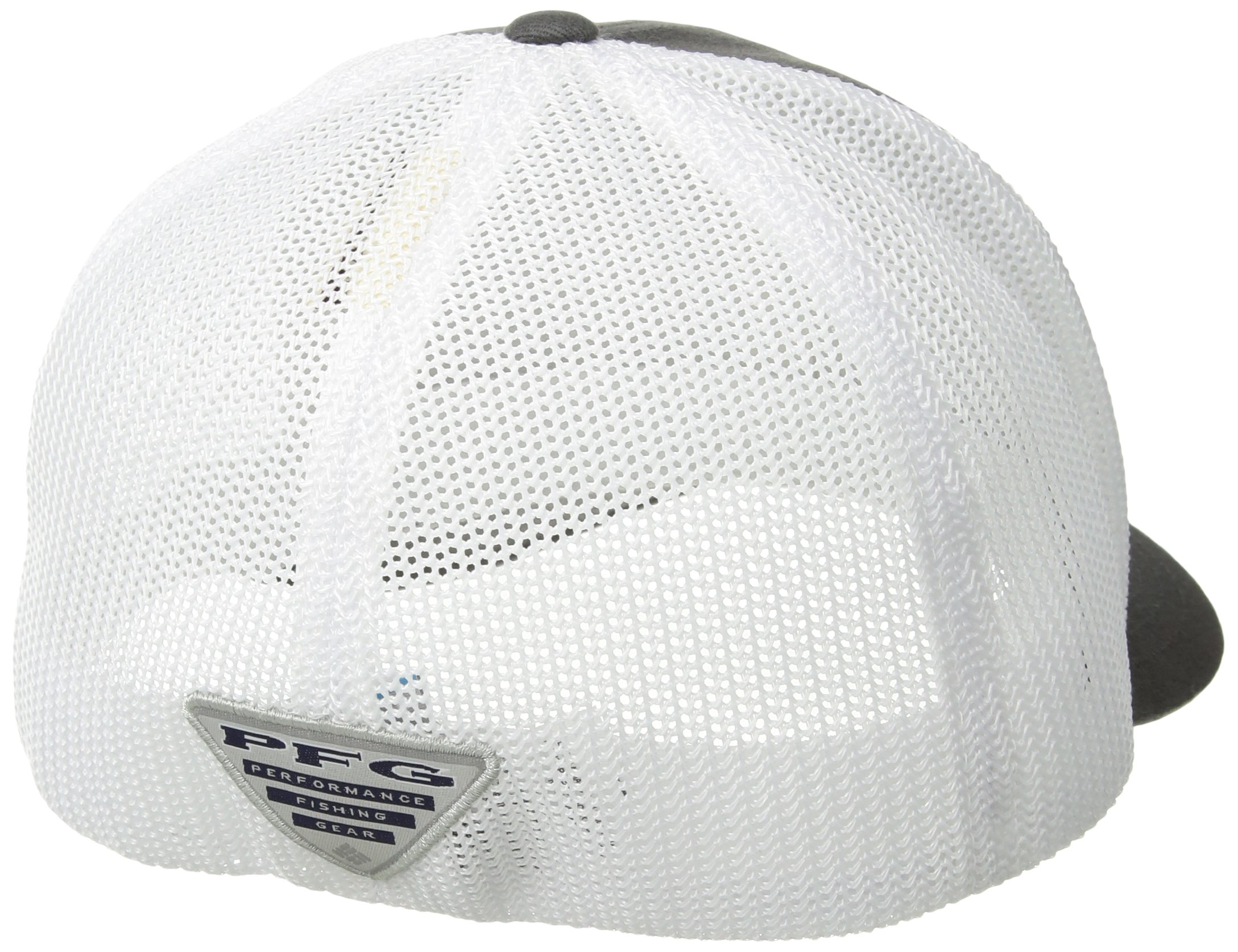 Columbia PFG Mesh Ball Cap, Grill Fish Trio, Large/X-Large by Columbia (Image #2)