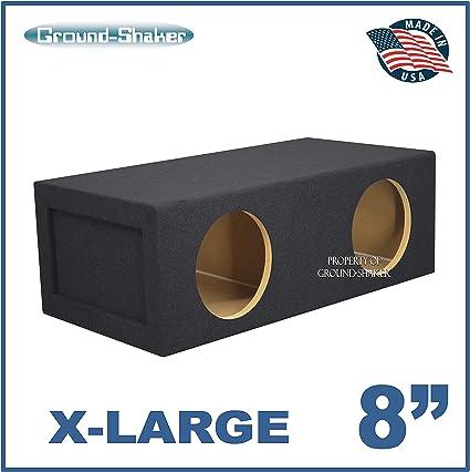 """8/"""" Sub woofer box Single 8/"""" Sub box Ground-shaker 8/"""" Single Sealed Sub Box"""