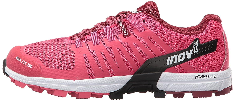 Inov-8 Women's Roclite 290 Trail Runner B01G50LI2C 8.5 D US|Pink/Black/White