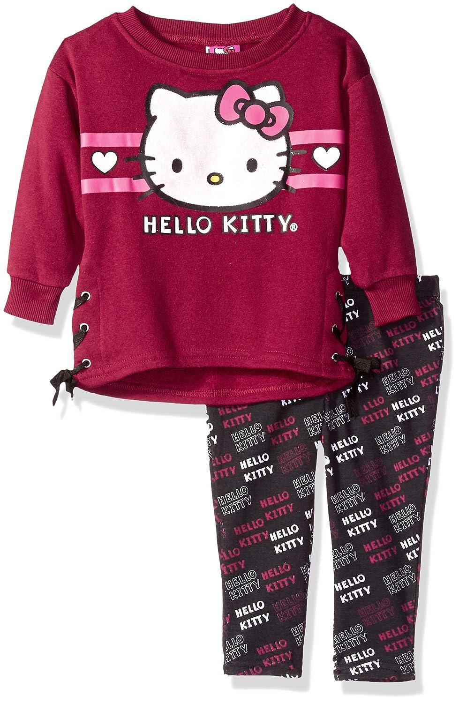 【数量限定】 Hello Kitty SWEATER ベビーガールズ 18 B0789G6MR7 Months Months バーガンディ 18 B0789G6MR7, アクアステラ:84ca8fce --- a0267596.xsph.ru