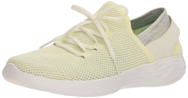Skechers Women's You-14960 Sneaker B072QZPCBN 9.5 B(M) US|Yellow