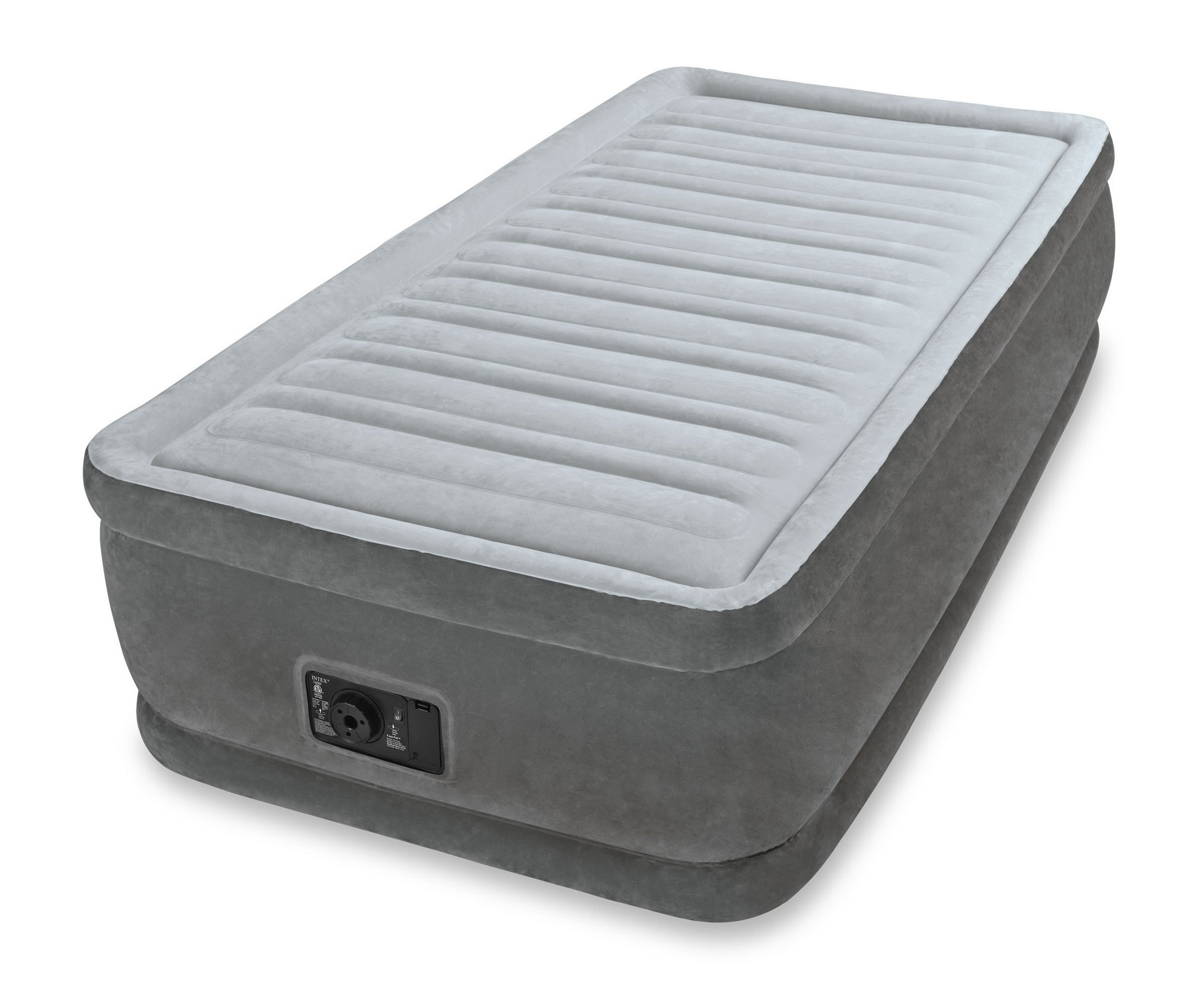 twin size air bed mattress 18 with built in electric pump. Black Bedroom Furniture Sets. Home Design Ideas