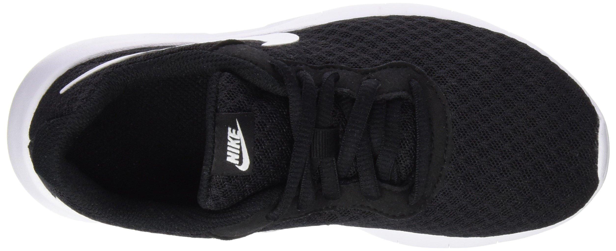 Nike Boy's Tanjun Running Sneaker Black/White-White 13 by Nike (Image #6)