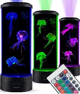 Amazon com : Lightahead LED Fantasy Jellyfish Lamp Round