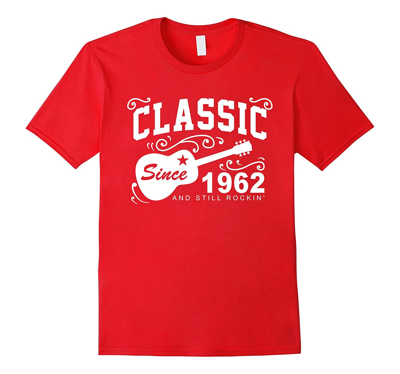 Classic Since 1962 Funny Birthday Tshirt for Men Turning 55-Vaci