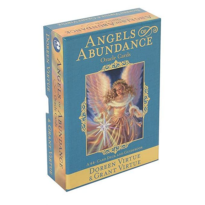 Doreen Virtue - Cartas de oráculo Angels of Abundance (Talla ...