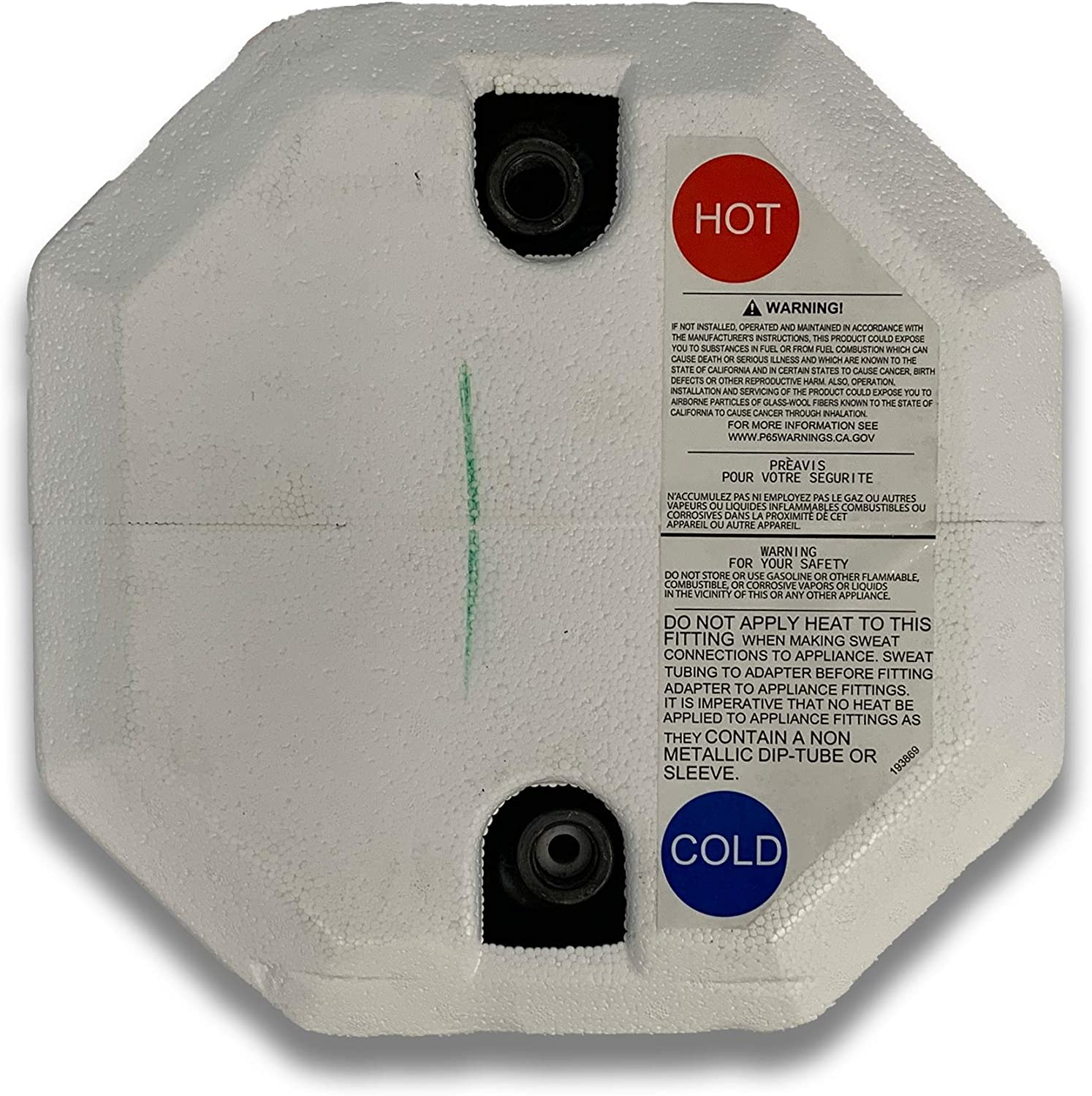 5140A Suburban Water Heater SW6DEL Direct Spark Ignition-Electric
