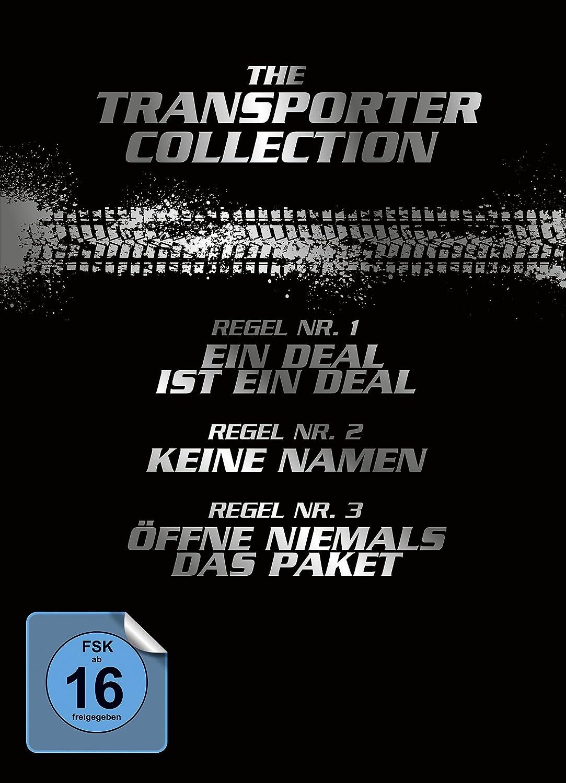 The Transporter Collection [4 DVDs]: Amazon.de: Jason Statham, Qi ...