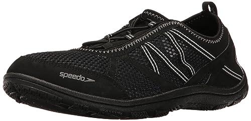 b761a64e87e0 Speedo Mens Men s Seaside Lace 5.0 Athletic Water Shoe Athletic ...