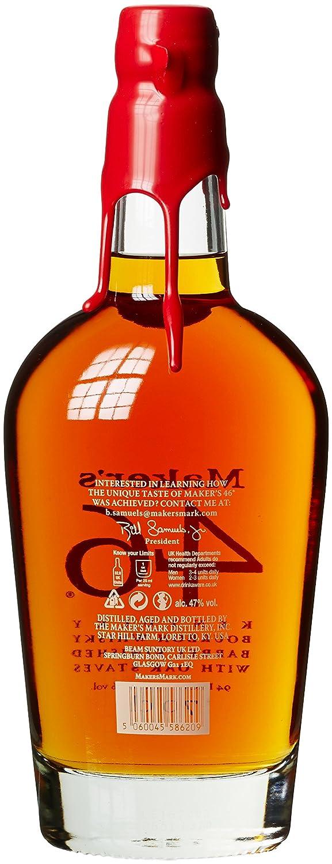 makers 46 bourbon whiskey 1 x 0 7 l amazon de bier wein