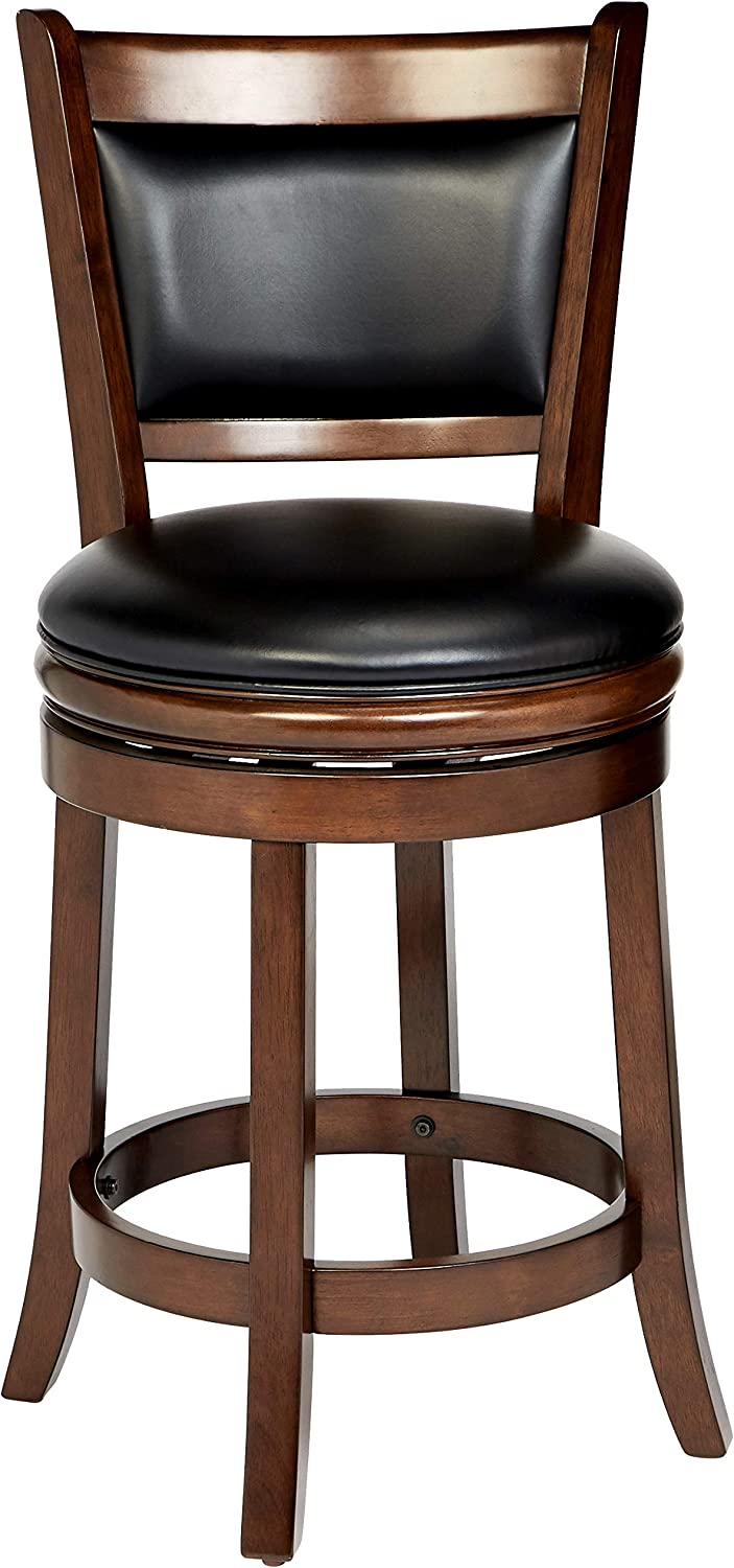 Ball & Cast Counter Stool - 24 Inch Seat Height, Cappuccino