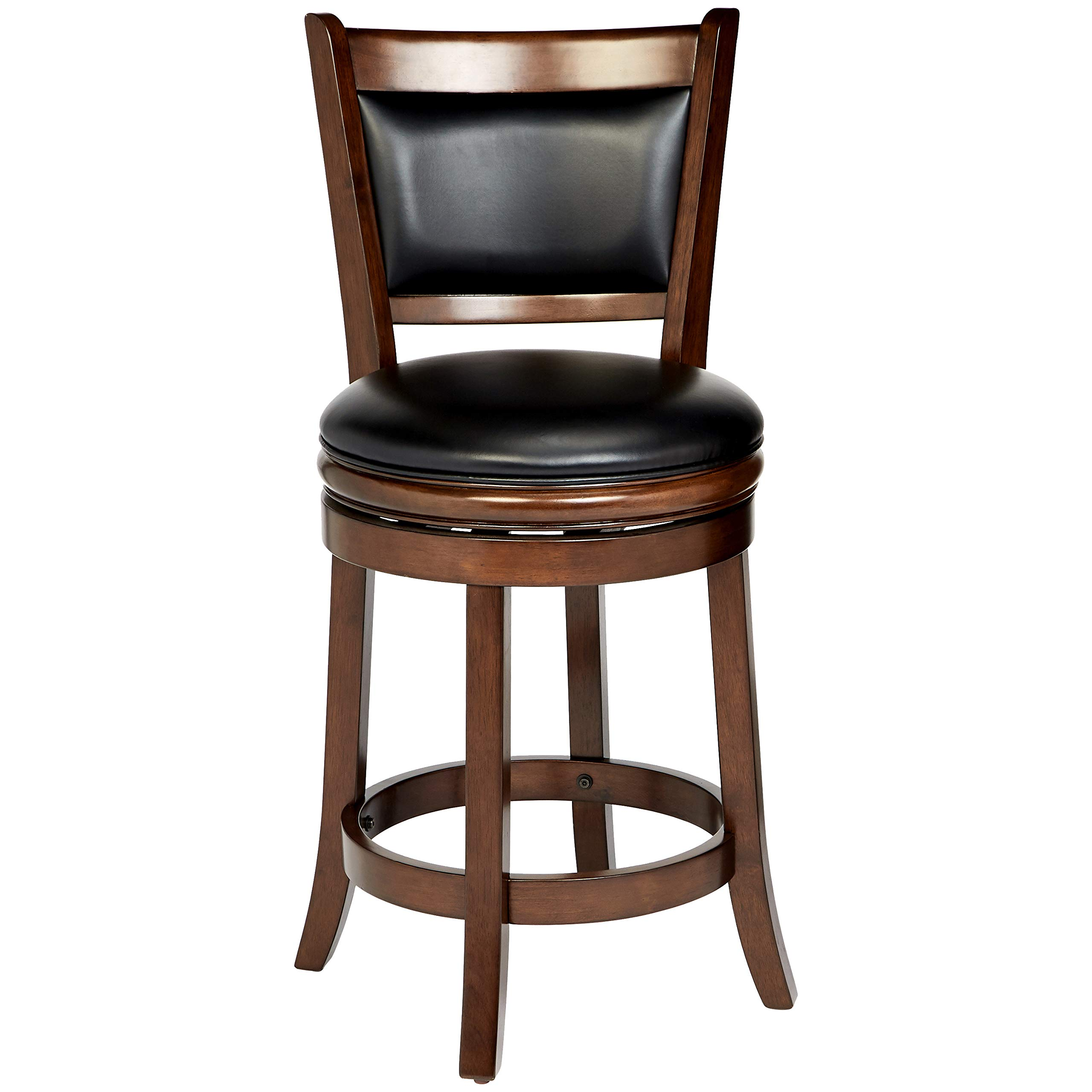 Ball & Cast HSA-1102B-2 Stool, 24'', Cappuccino by Ball & Cast (Image #1)