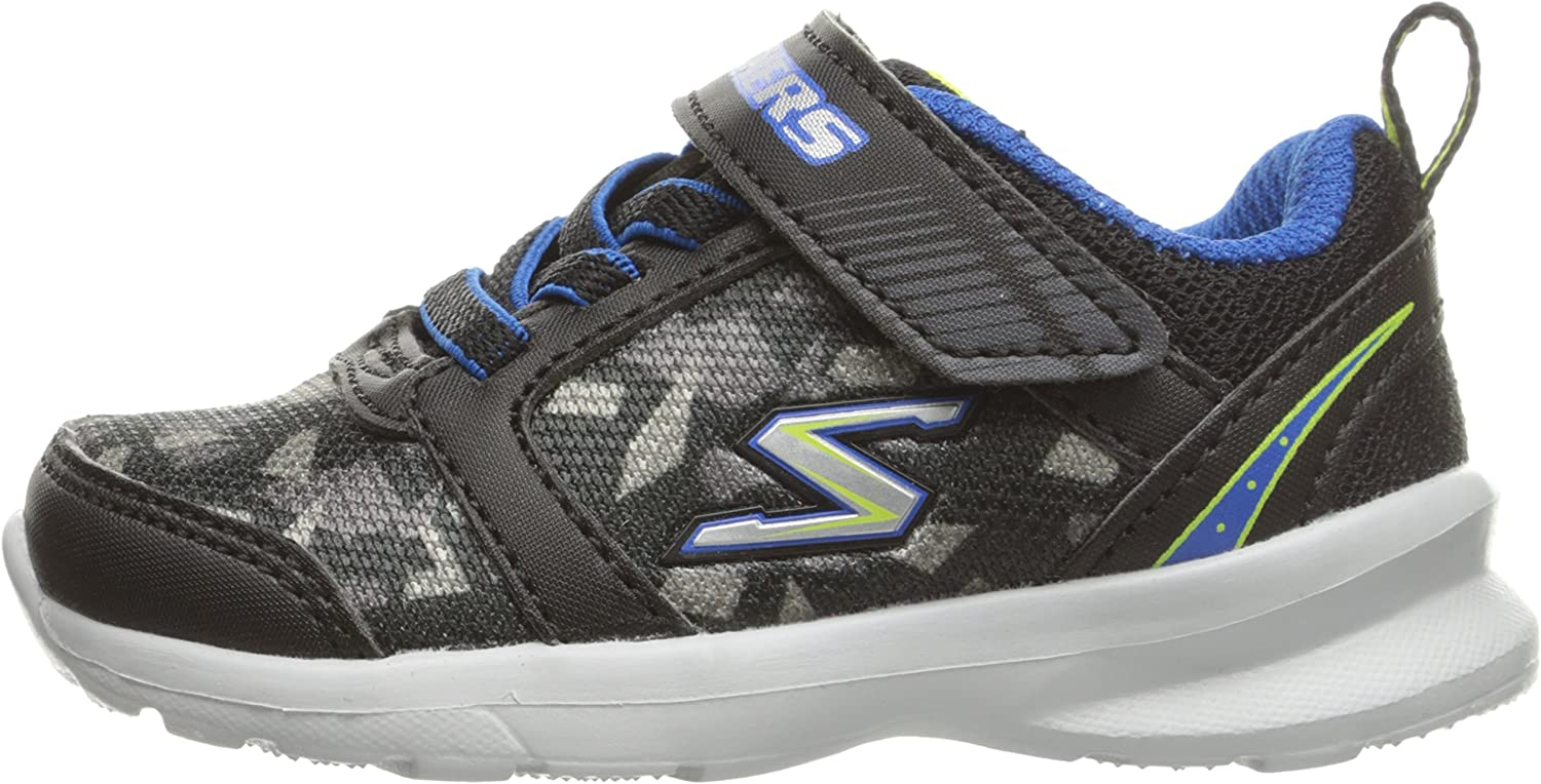 Toddler Boy/'s Skechers Skech-Stepz Sneakers Charcoal//Royal