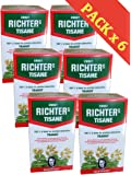 Tisane Richter - 6 boîtes de 20 infusions Ernst Richter's Tisane TRANSIT