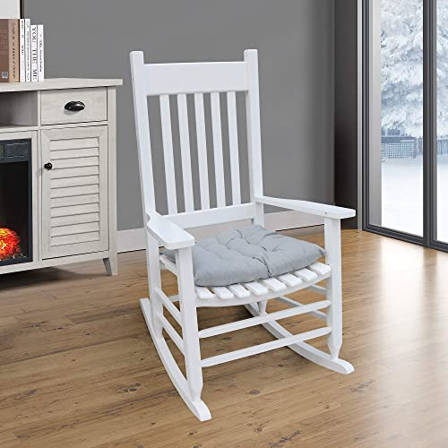 MIYACA Solid Wood Rocking Chair Suitable
