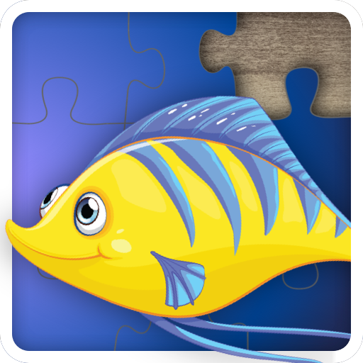 Fun Ocean Fish Jigsaw Puzzles for kids and toddlers - Free to try Edition - Educational Jigsaw Puzzle Game for Kids and Preschoolers, Boys and Girls from 1-10 years -