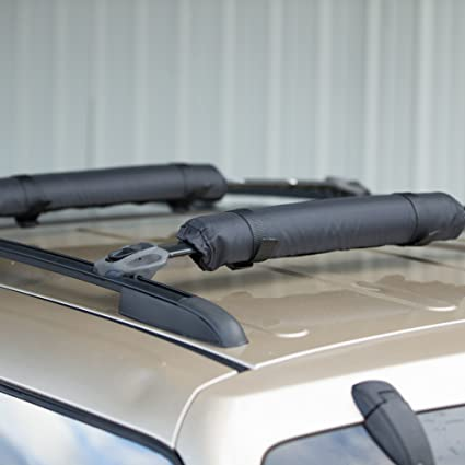 Roof Rack Protective Cross Bars Pads Car Top Cargo Carrier