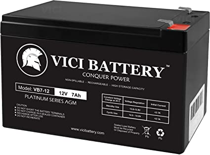VICI Battery Brand Product 12V 9AH SLA Replacement Battery for LiftMaster LA400-2 Pack