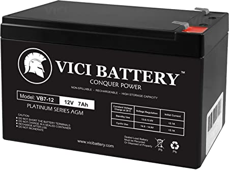 APC BackUPS CS BK500EI 12V 7Ah UPS Battery This is an AJC Brand Replacement