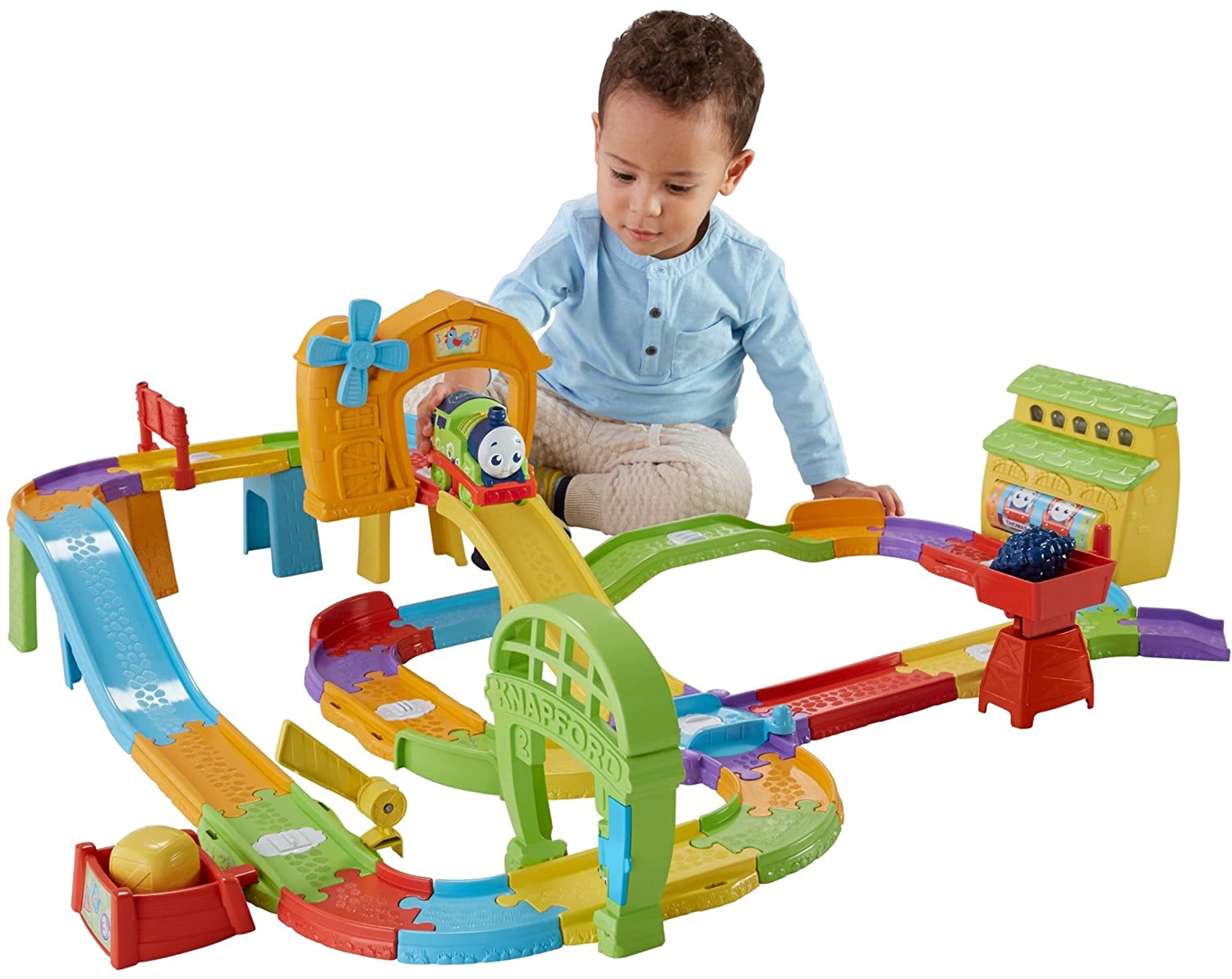 Amazoncom Thomas Friends Fisher Price My First Railway Pals