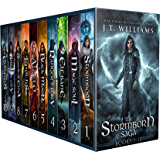 The Stormborn Saga (the triple trilogy omnibus): An epic sword and sorcery fantasy adventure (English Edition)
