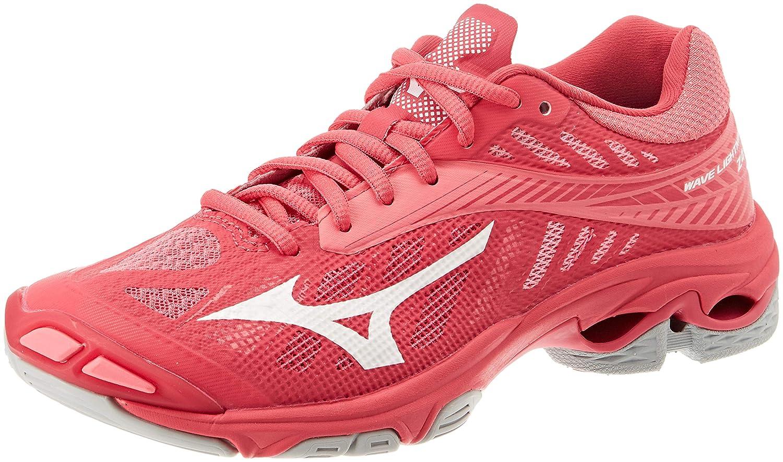Mizuno Wave Lightning Z4, Zapatillas para Mujer 38 EU|Rosa (Azalea/Wht/Camelliarose 001)