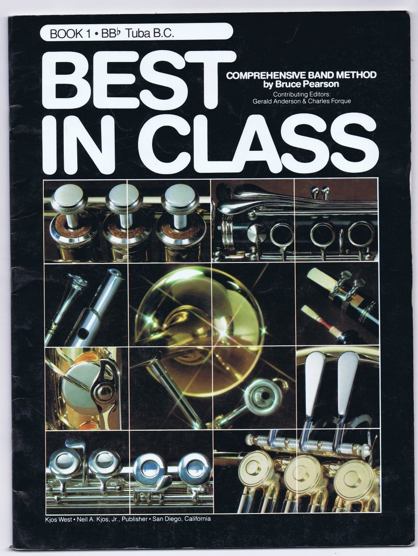 Encore! Best in Class Series (Tuba, Book 1)