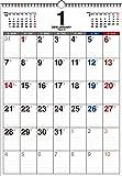 2019年 書き込み式 月曜始まり シンプルカレンダー B3タテ 【K7】 ([カレンダー])