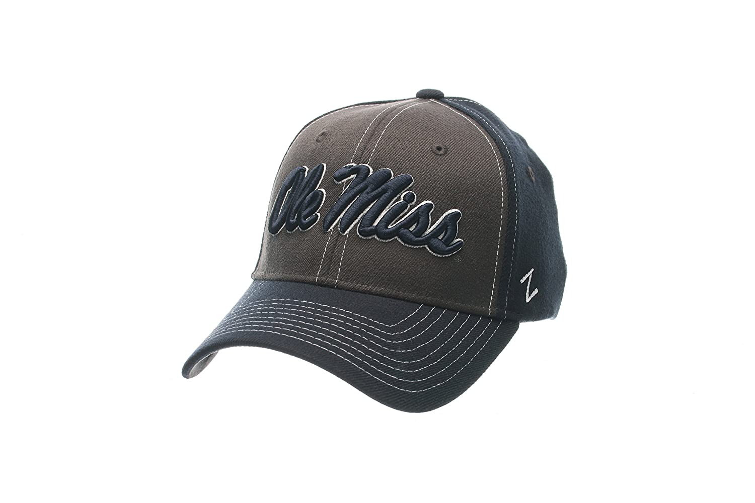 17b11c76d75057 Amazon.com : NCAA Penn State Nittany Lions Men's Powerhouse Z-Fit Cap,  X-Large, Charcoal/Navy : Sports & Outdoors