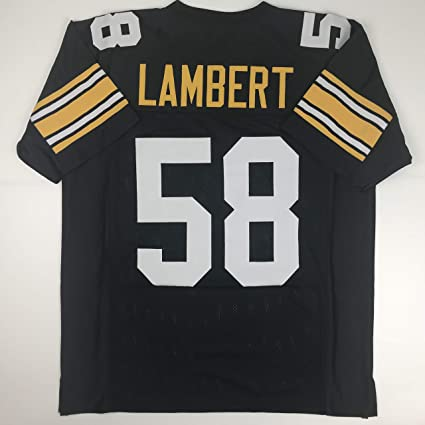 Unsigned Jack Lambert Pittsburgh Black Custom Stitched Football Jersey Size  Men s XL New No Brands  a21a27964