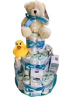 3-6 kg Tarta de pa/ñales DODOT complementos CHICCO azul Talla 2