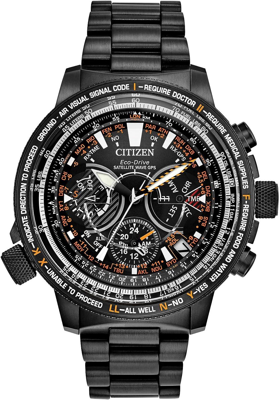 Citizen CC7015-55E Satellite Wave Promaster Sky 30º Aniversario GPS Reloj de cronometraje Super Titanio