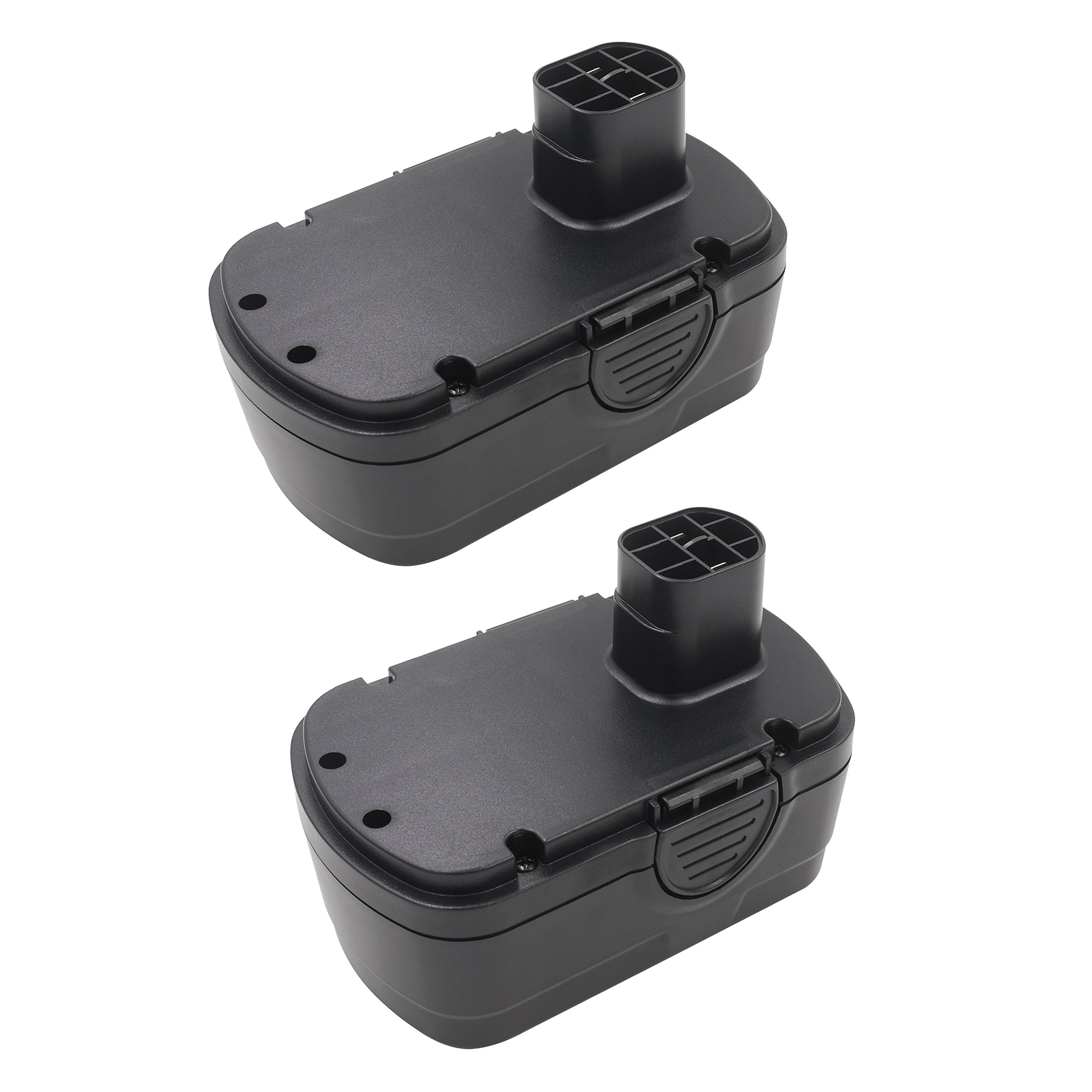 Bonacell 2 Pack 18V 2000mAh Ni-Cd Replacement Earthwise BP91001 Battery for Earthwise Models CPS40008, CST00012, CHT10122 and CB20018