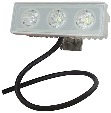 Shoreline marine led spreader docking light