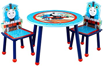 Amazoncom Kidkraft Thomas And Friends Table And Chair Set Toys