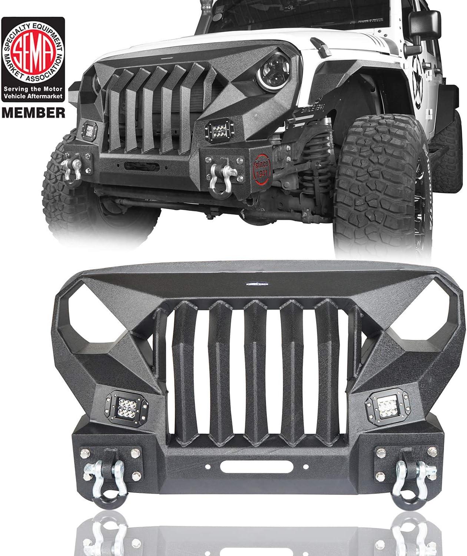 Jeep Jk Front Bumper Grill