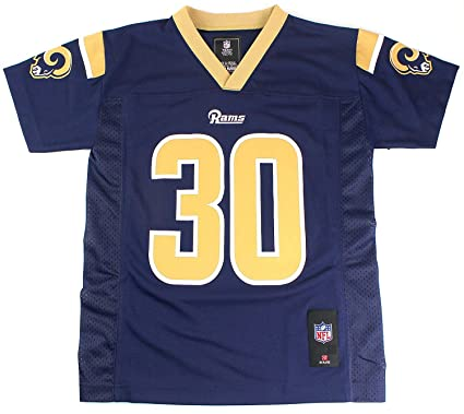 348e816dc1d Los Angeles Rams Todd Gurley II #30 NFL Youth Navy Home Jersey (Youth X