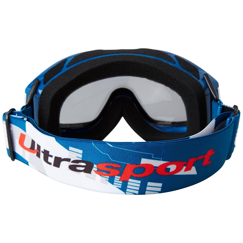 10804c0e78 Ultrasport Gafas de Esquí y Snowboard con Doble Lente, Unisex Adulto,  Azul/Blanco/Gris, Talla Única: Amazon.es: Deportes y aire libre