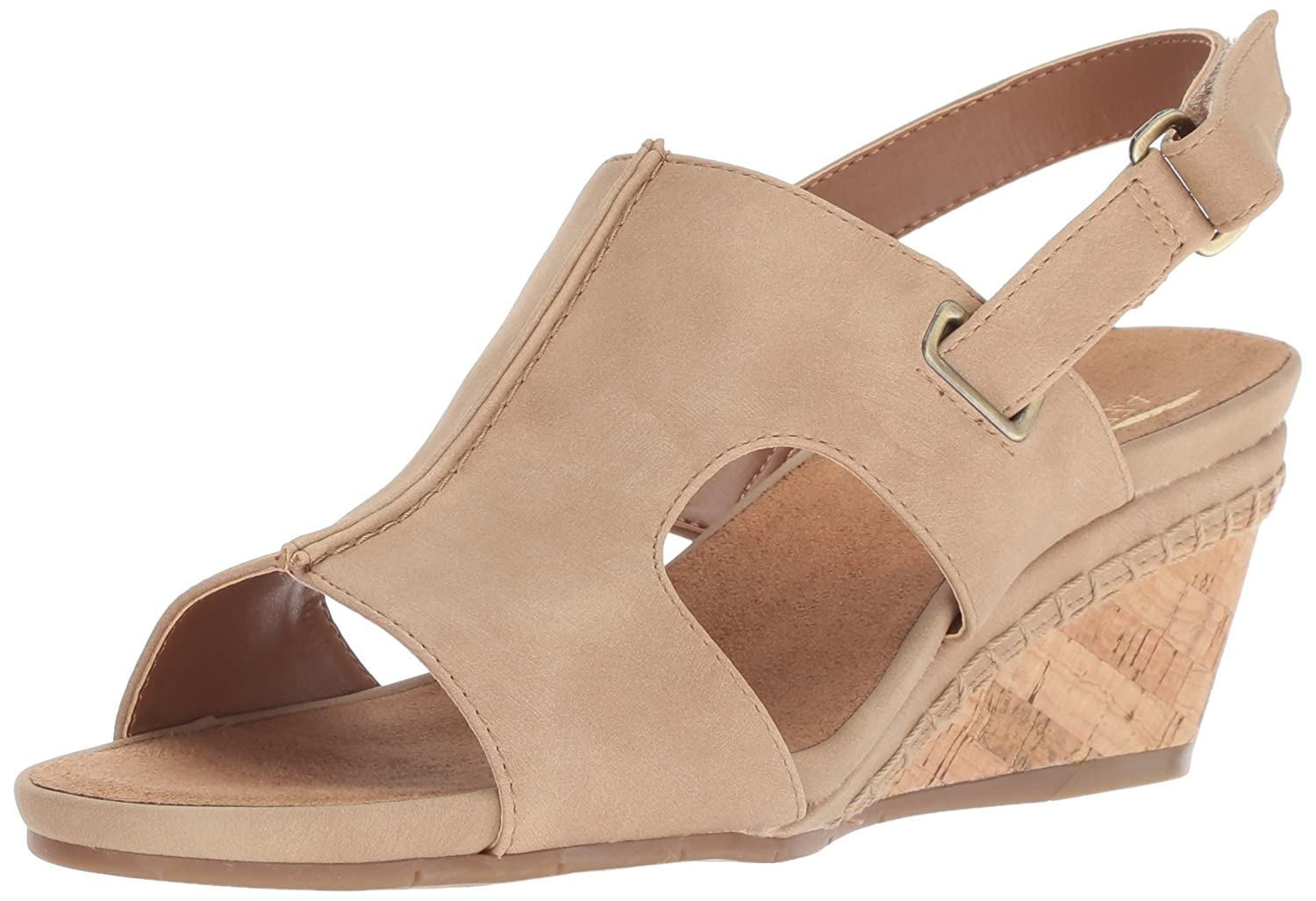 Nude Aerosoles Womens Shortcake Sandal